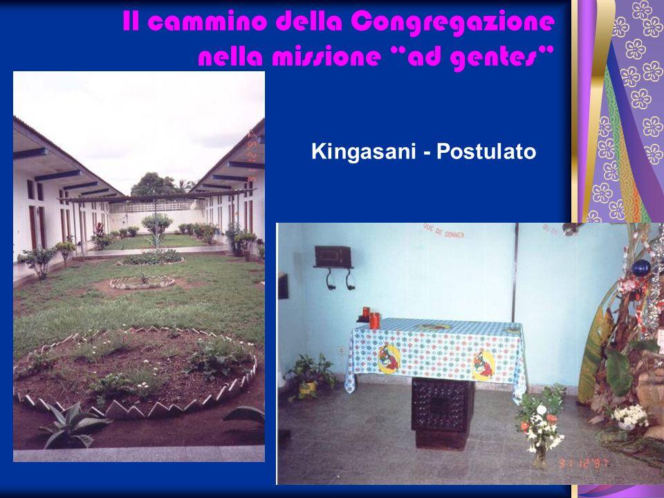 Il cammino della Congregazione nella missione ad gentes Kingasani - Postulato