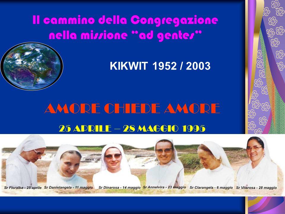 KIKWIT 1952 / 2003 AMORE CHIEDE AMORE 25 APRILE – 28 MAGGIO 1995
