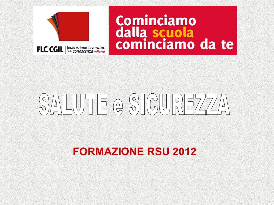 FORMAZIONE RSU 2012