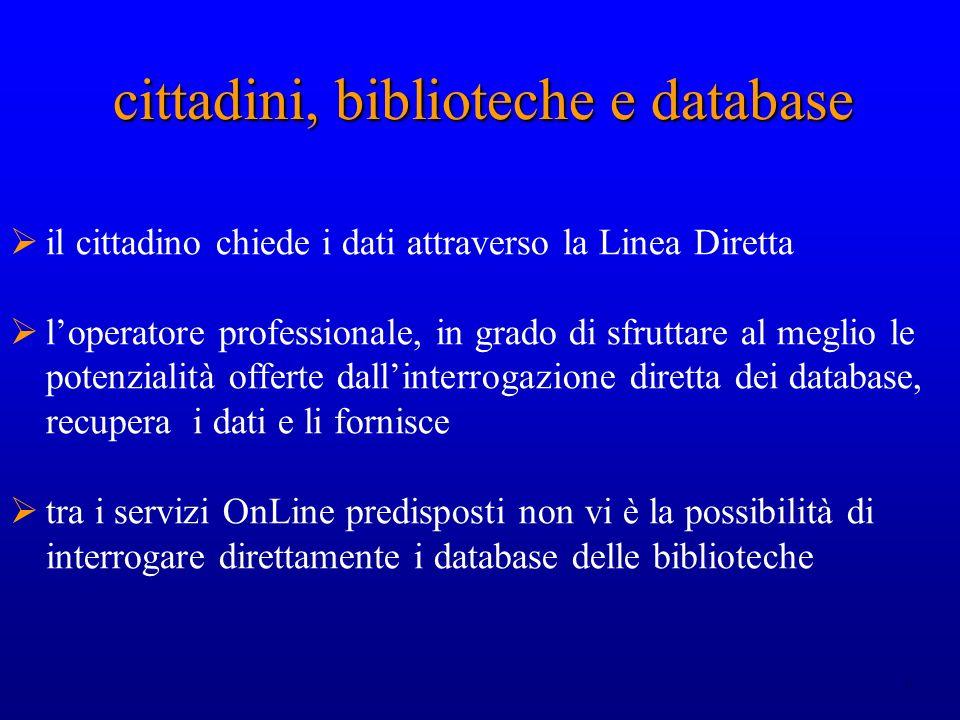10 cittadini, biblioteche e database