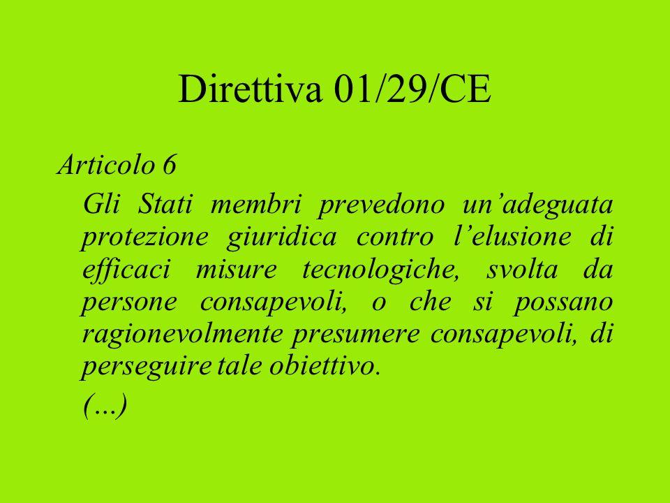 Utilizzazioni libere Legge 633/41 (art.