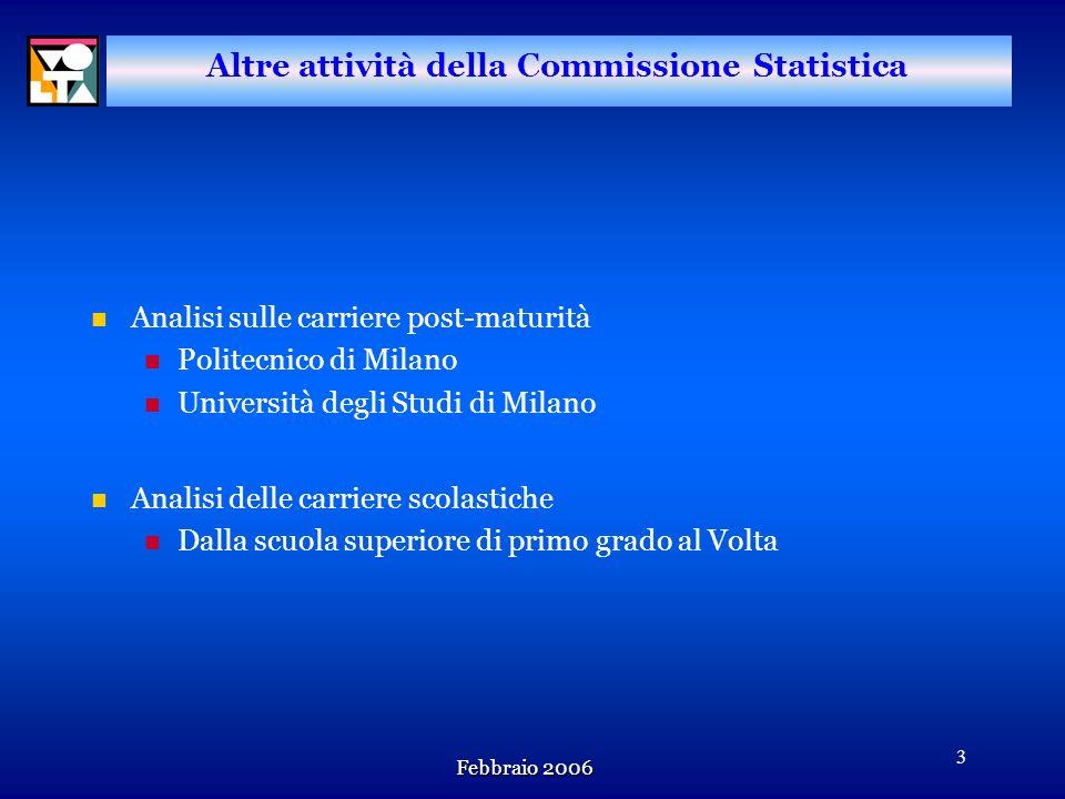 Febbraio 2006 2 Gli strumenti della Commissione Lattività della Commissione concerne in pratica lelaborazione e lanalisi delle seguenti fonti informat
