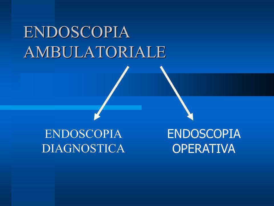 ENDOSCOPIA AMBULATORIALE ENDOSCOPIA DIAGNOSTICA ENDOSCOPIA OPERATIVA
