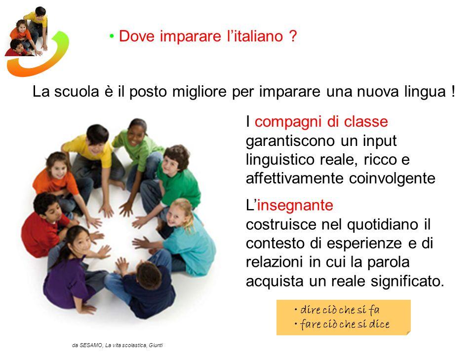 La scuola è il posto migliore per imparare una nuova lingua .