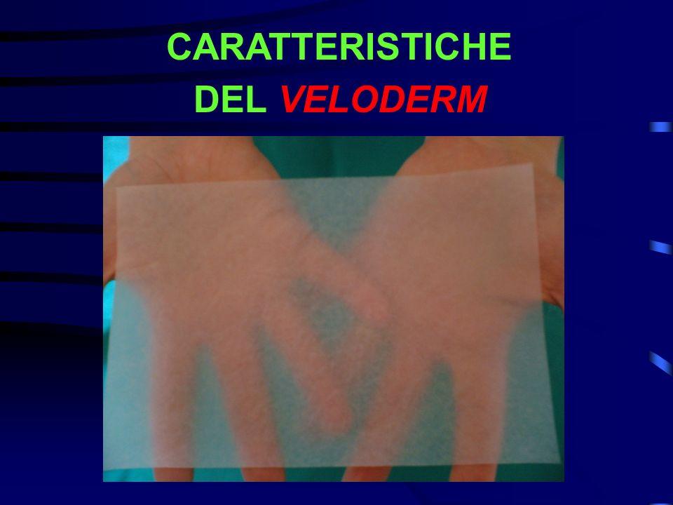 CARATTERISTICHE DEL VELODERM