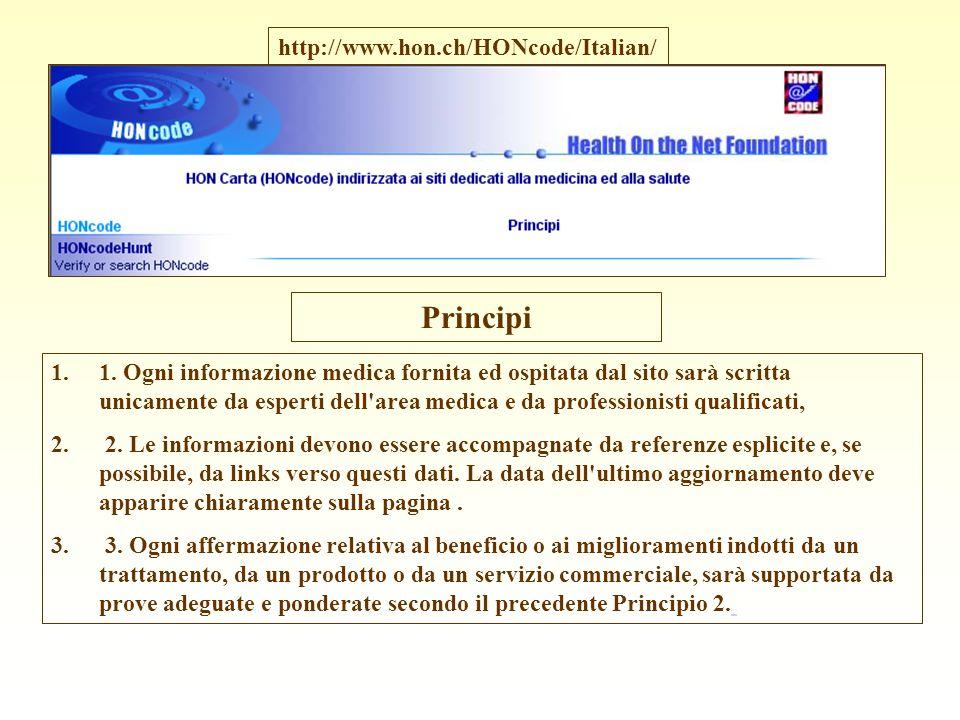 1.1. Ogni informazione medica fornita ed ospitata dal sito sarà scritta unicamente da esperti dell'area medica e da professionisti qualificati, 2. 2.