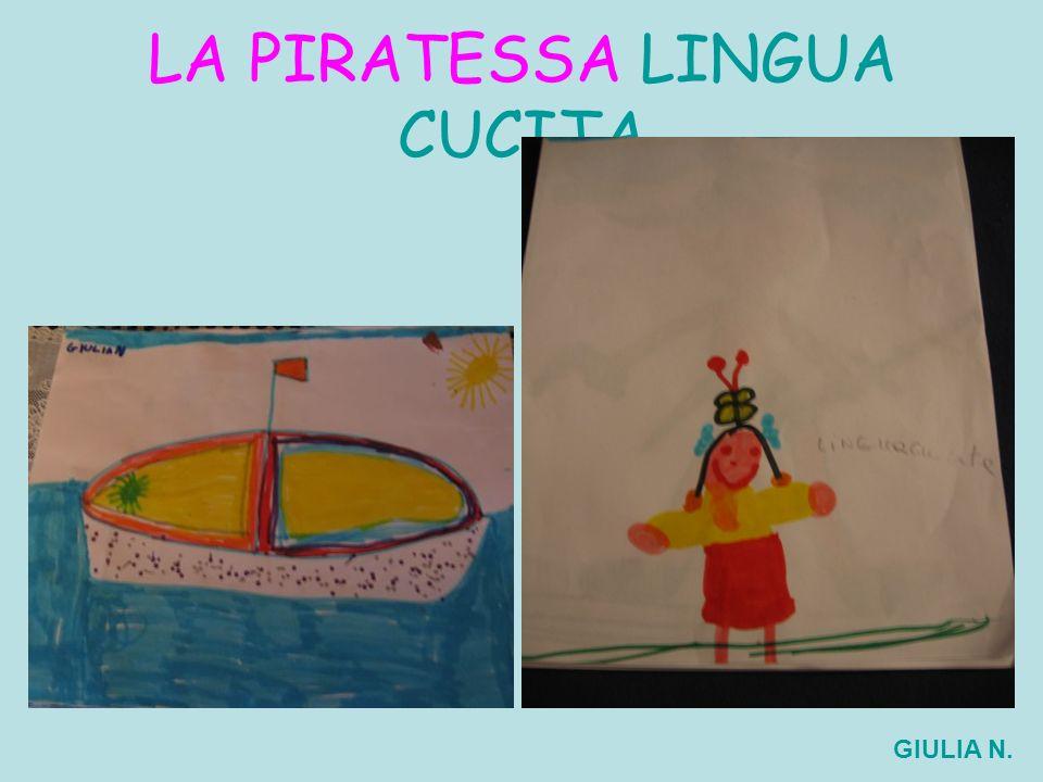 LA PIRATESSA LINGUA CUCITA GIULIA N.