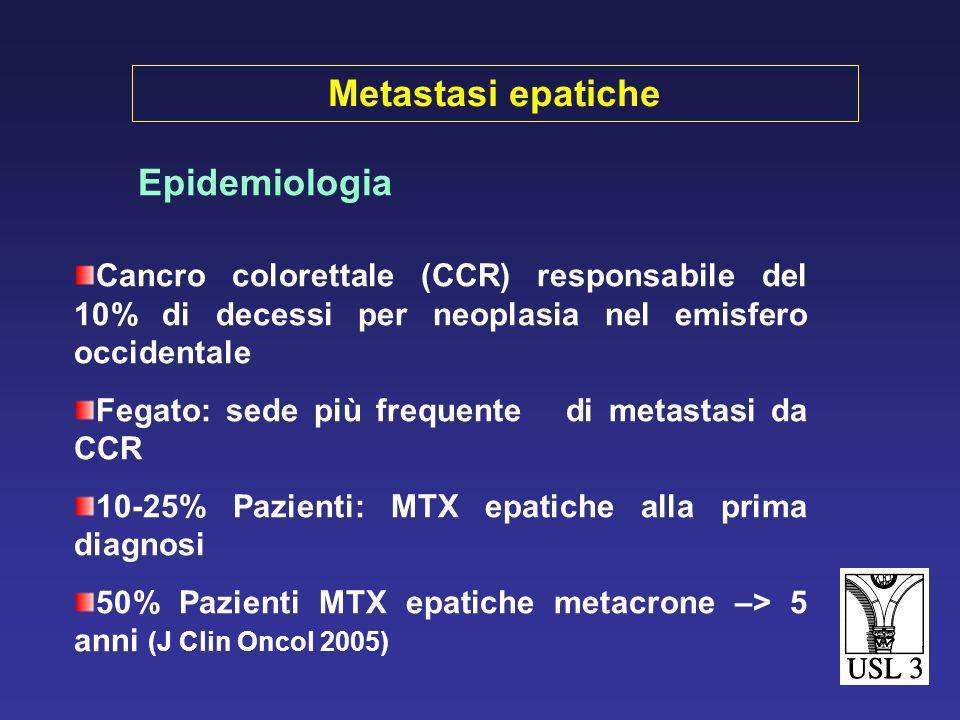 Termoablazione con radiofrequenza open e closed di metastasi epatiche da carcinoma colorettale. Esperienza iniziale e risultati S. Giannessi, L. Cecco