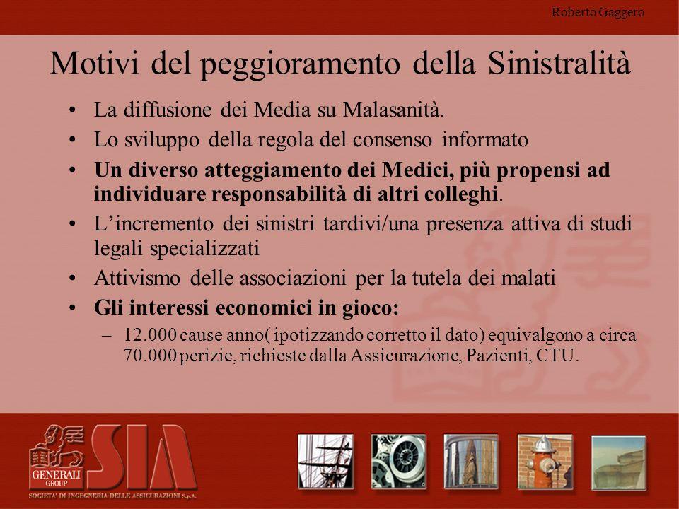 Roberto Gaggero Su cosa operare Rischio Clinico Prevenzione e Protezione Area giuridico amministrativa