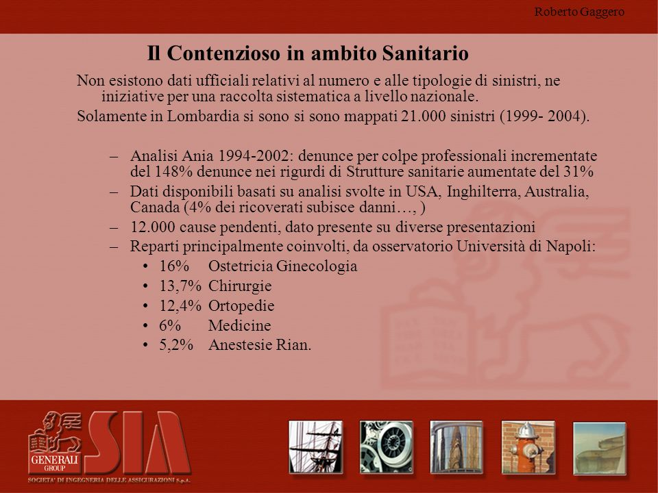 Roberto Gaggero Unica certezza Il numero di denunce cresce in modo esponenziale.