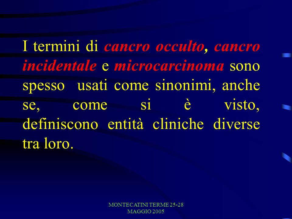 MONTECATINI TERME 25-28 MAGGIO 2005 ALGORITMO DI TRATTAMENTO Burguera B, Gharib H.