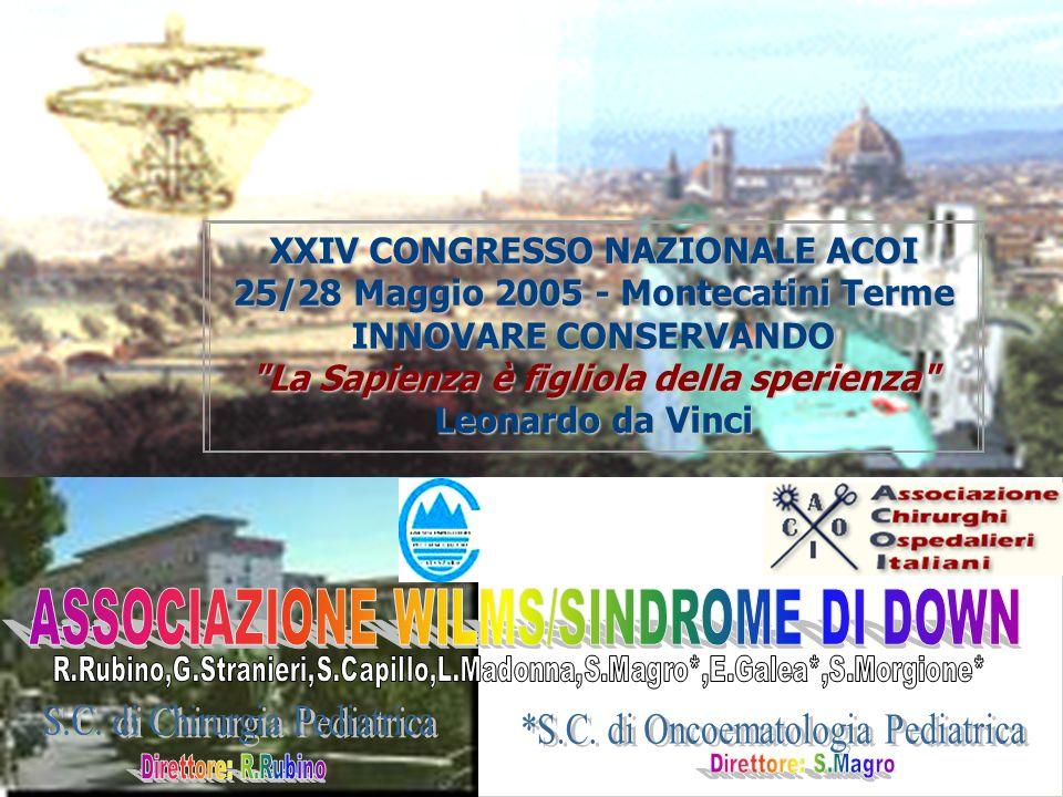 XXIV CONGRESSO NAZIONALE ACOI 25/28 Maggio 2005 - Montecatini Terme INNOVARE CONSERVANDO La Sapienza è figliola della sperienza Leonardo da Vinci
