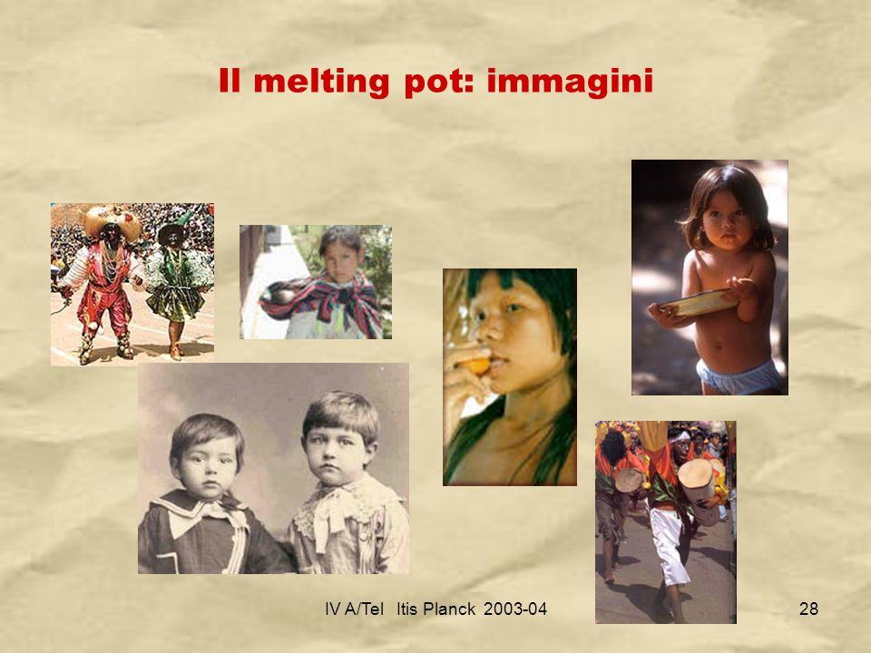 IV A/Tel Itis Planck 2003-0428 Il melting pot: immagini