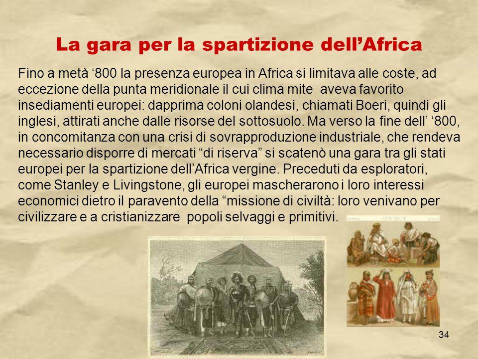 IV A/Tel Itis Planck 2003-0434 Fino a metà 800 la presenza europea in Africa si limitava alle coste, ad eccezione della punta meridionale il cui clima