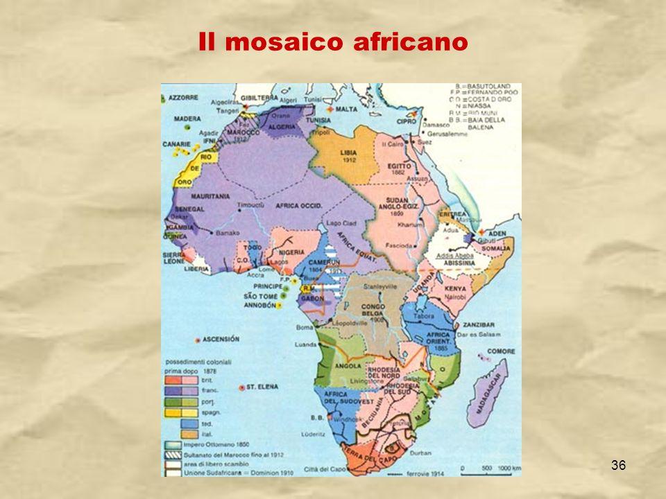 IV A/Tel Itis Planck 2003-0436 Il mosaico africano
