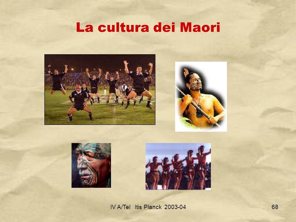 IV A/Tel Itis Planck 2003-0468 La cultura dei Maori