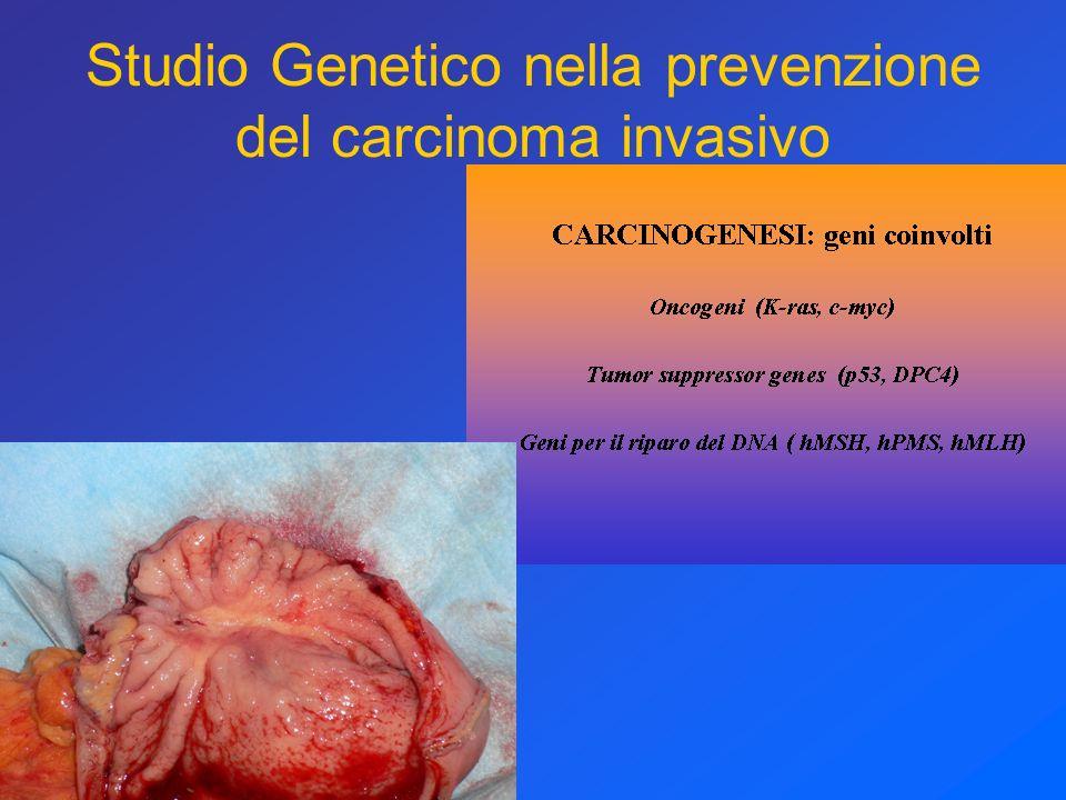 Studio Genetico nella prevenzione del carcinoma invasivo