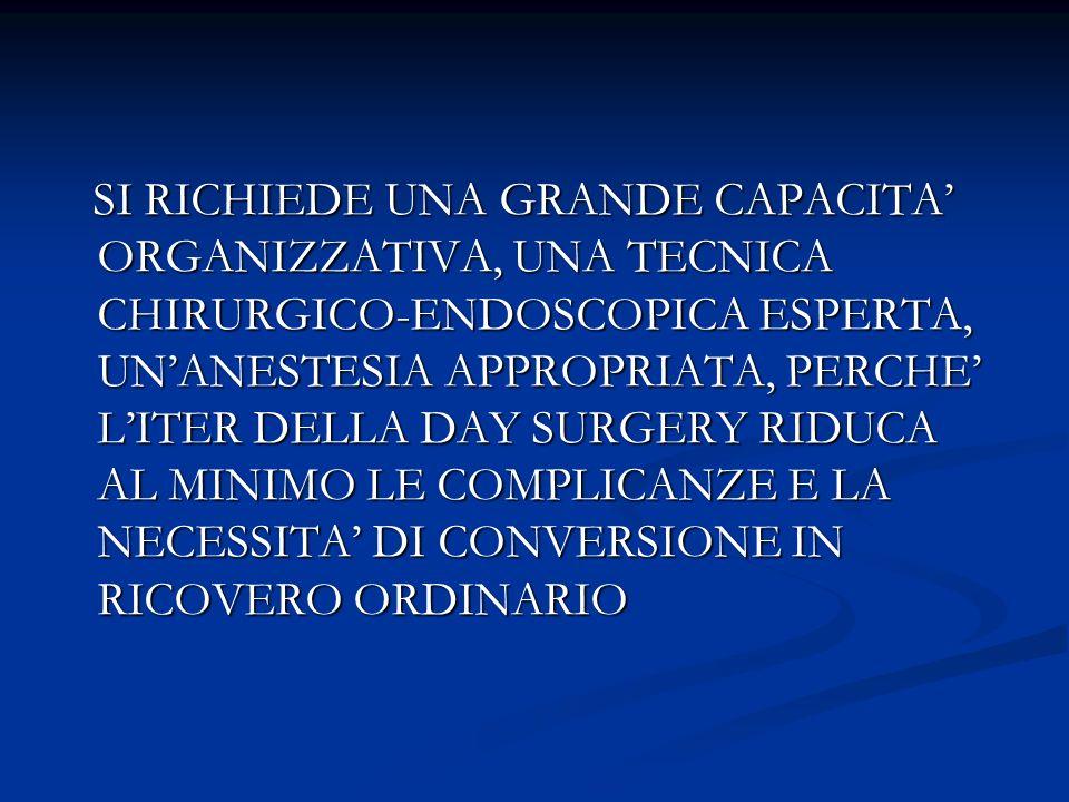 EVENTUALI SOLUZIONI (2) COSTRUIRE, ATTRAVERSO I NUCLEI DI VALUTAZIONE AZIENDALI, UN TARIFFARIO AD HOC PER LE PRESTAZIONI ENDOSCOPICHE CHIRURGICHE PARTENDO DALLE TARIFFE DEI RICOVERI ORDINARI.