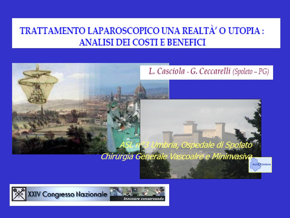 ASL n°3 Umbria, Ospedale di Spoleto Chirurgia Generale Vascoalre e Mininvasiva