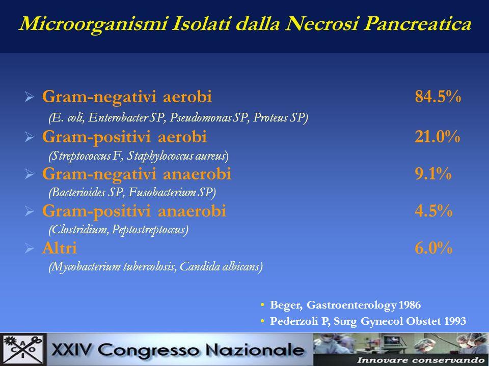La Sapienza è figliola della sperienza Leonardo da Vinci Antibioticoterapia nella Pancreatite Acuta Necrotico-Emorragica