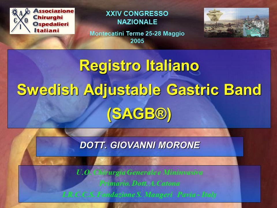 The Swedish Adjustable Gastric Banding (SAGB®)
