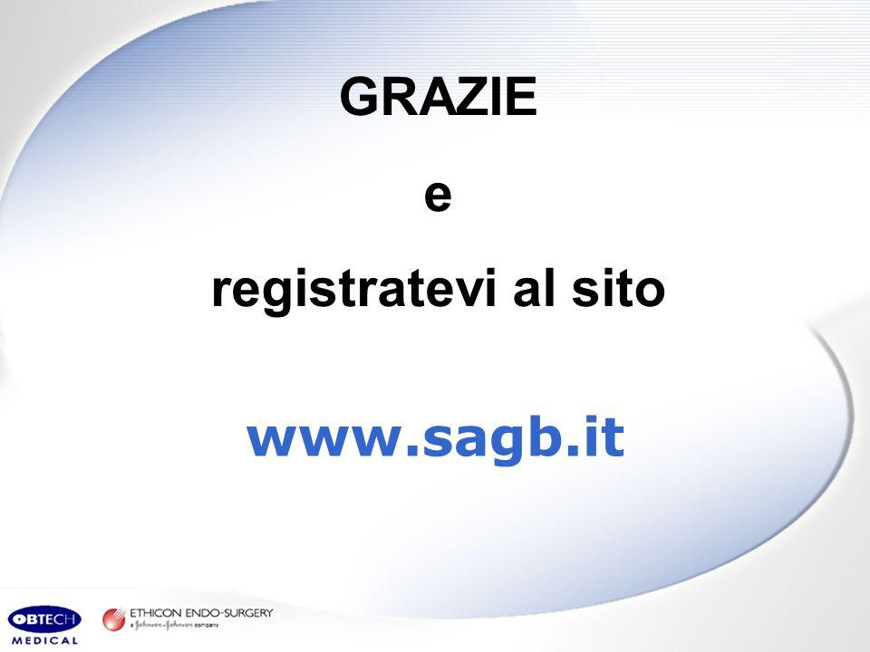 www.sagb.it GRAZIE e registratevi al sito