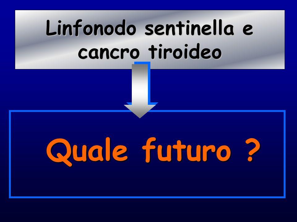 Quale futuro ? Linfonodo sentinella e Linfonodo sentinella e cancro tiroideo cancro tiroideo
