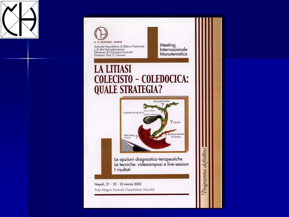 Calcolosi colecisto-coledocica Asintomatica Pancreatite Dolore Ittero Subittero Colangite
