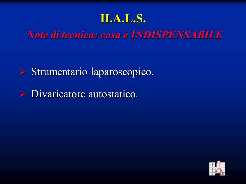 Strumentario laparoscopico.Strumentario laparoscopico.