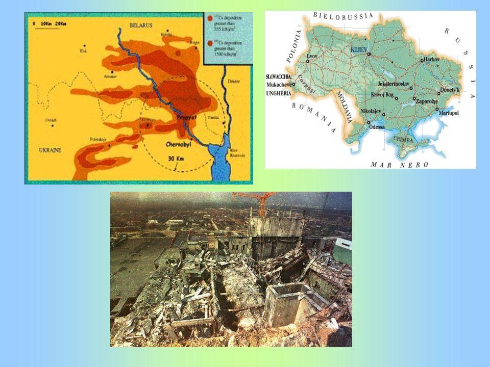 Impatto a lungo termine Subito dopo l incidente la principale preoccupazione derivò dalla presenza nell area di iodio-131.