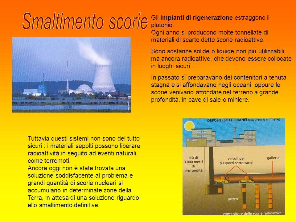 Tuttavia questi sistemi non sono del tutto sicuri : i materiali sepolti possono liberare radioattività in seguito ad eventi naturali, come terremoti.
