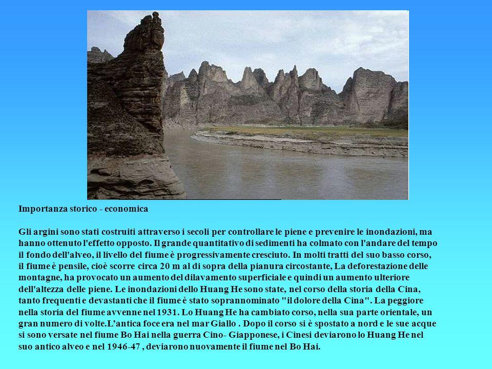 Importanza storico - economica Gli argini sono stati costruiti attraverso i secoli per controllare le piene e prevenire le inondazioni, ma hanno otten