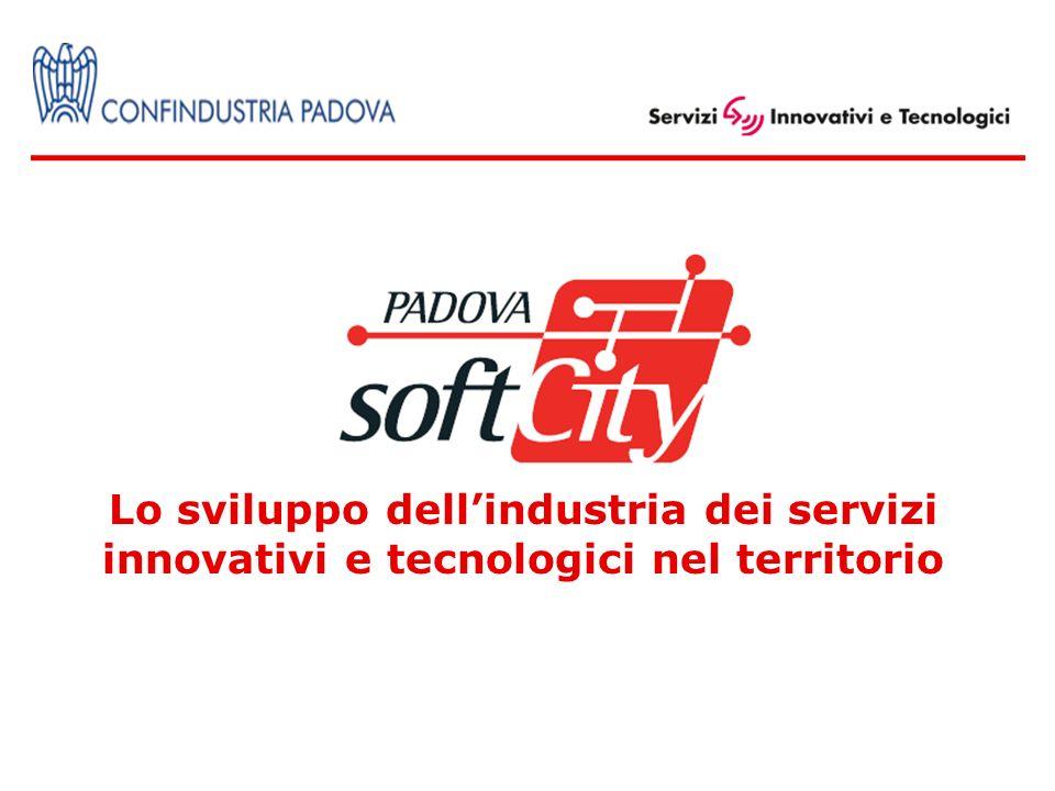 Lo sviluppo dellindustria dei servizi innovativi e tecnologici nel territorio