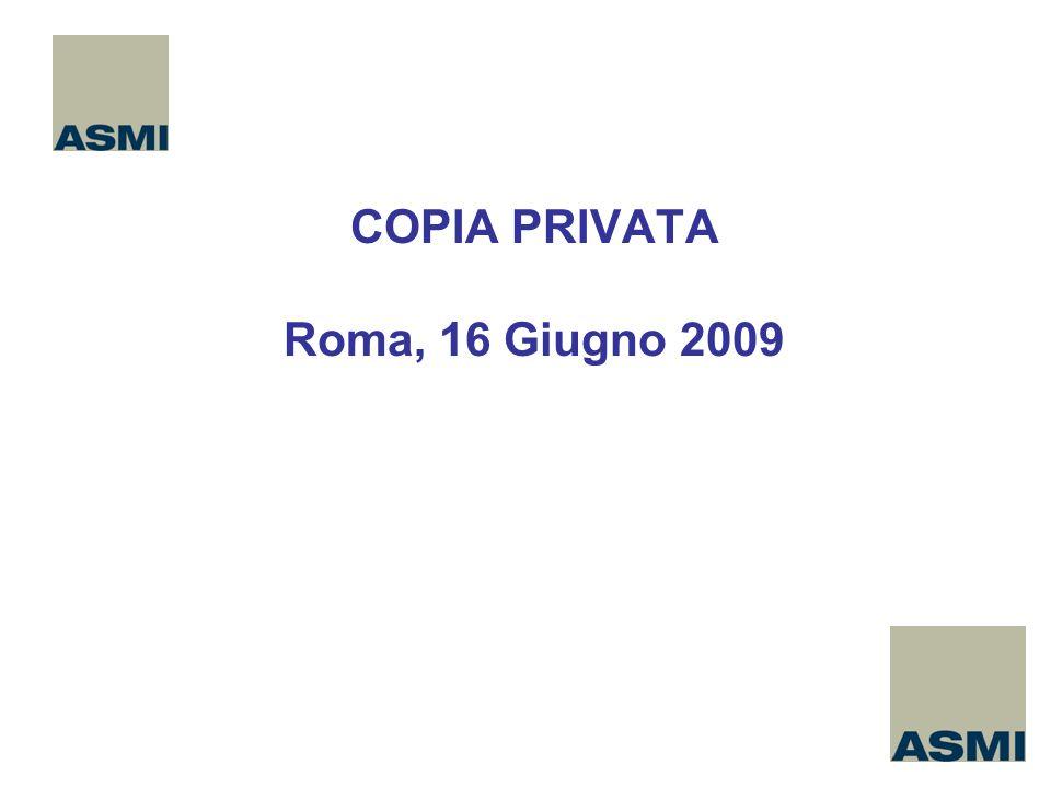 COPIA PRIVATA Roma, 16 Giugno 2009