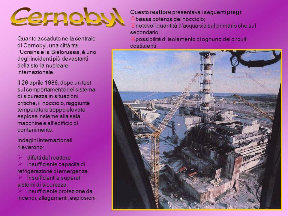 Quanto accaduto nella centrale di Cernobyl, una città tra lUcraina e la Bielorussia, è uno degli incidenti più devastanti della storia nucleare intern
