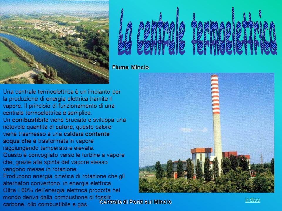 Una centrale termoelettrica è un impianto per la produzione di energia elettrica tramite il vapore. Il principio di funzionamento di una centrale term