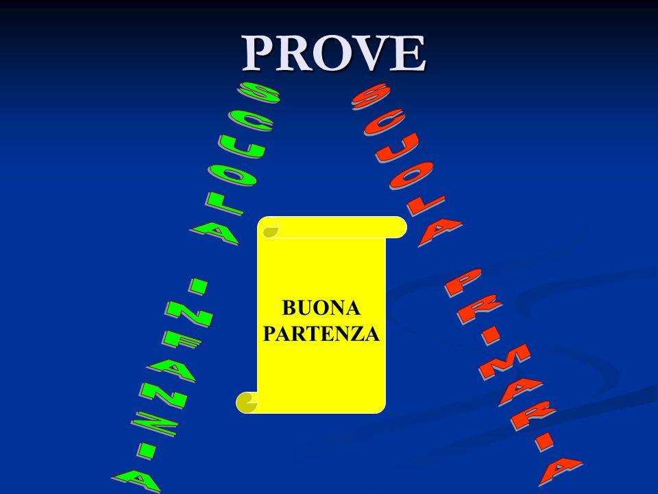 PROVE BUONA PARTENZA