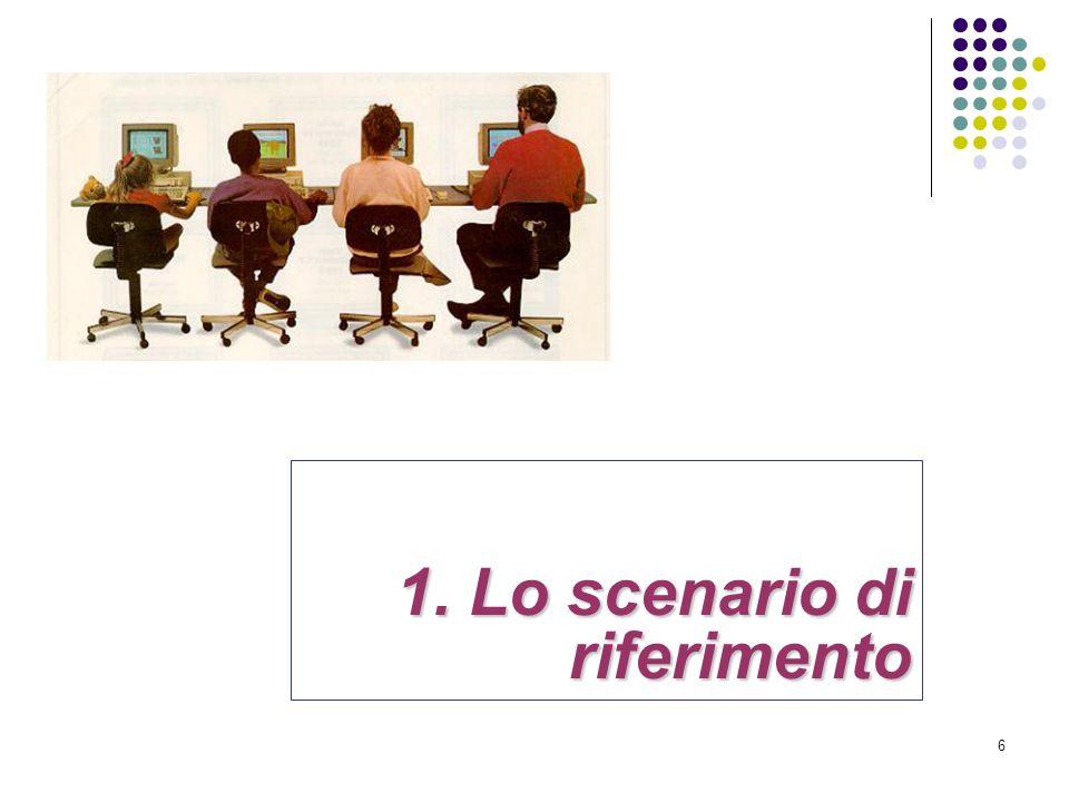 6 1. Lo scenario di riferimento