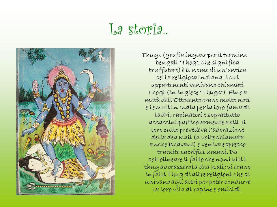La dea Kalì..