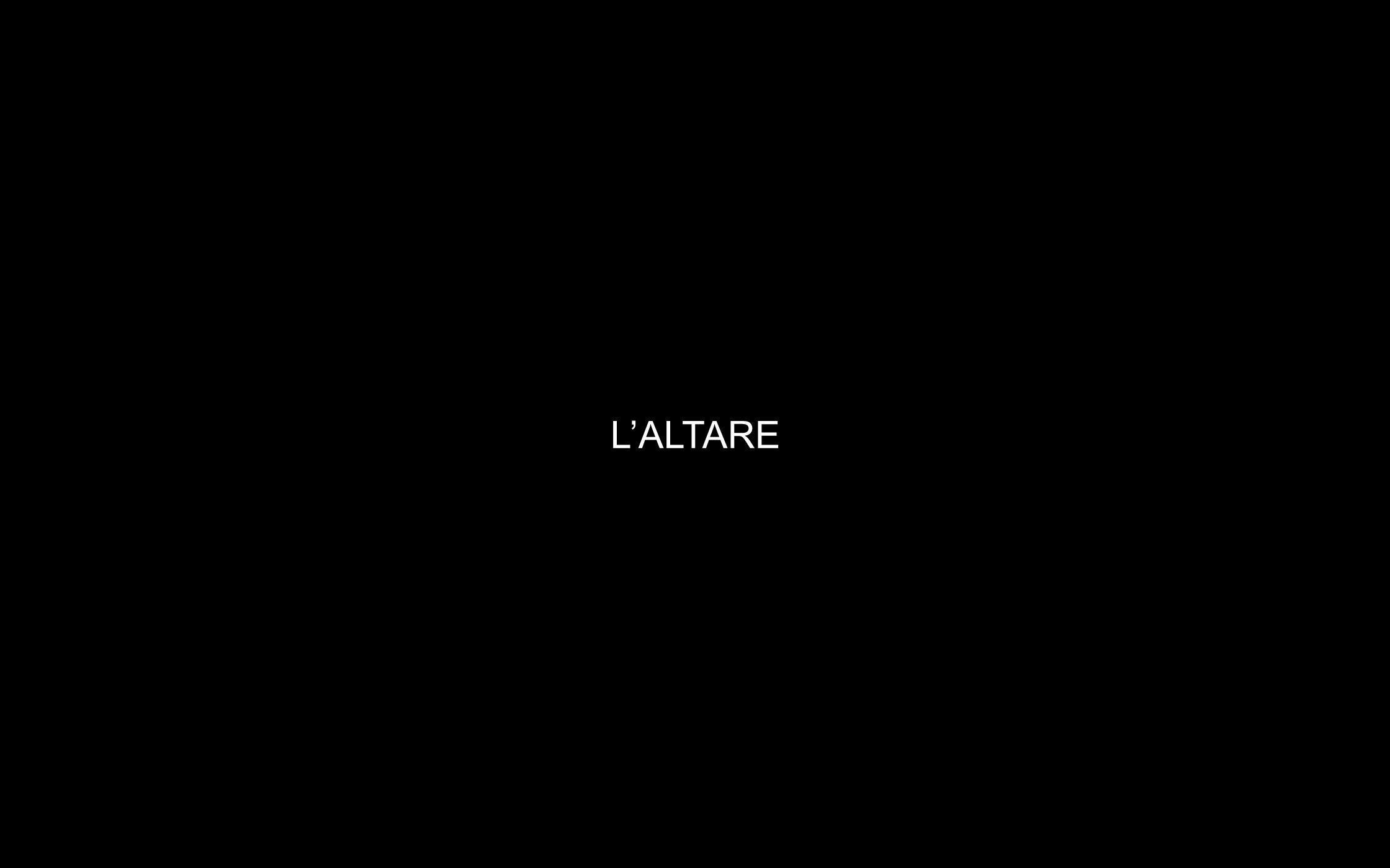 LALTARE