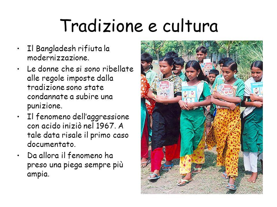 Tradizione e cultura Il Bangladesh rifiuta la modernizzazione. Le donne che si sono ribellate alle regole imposte dalla tradizione sono state condanna