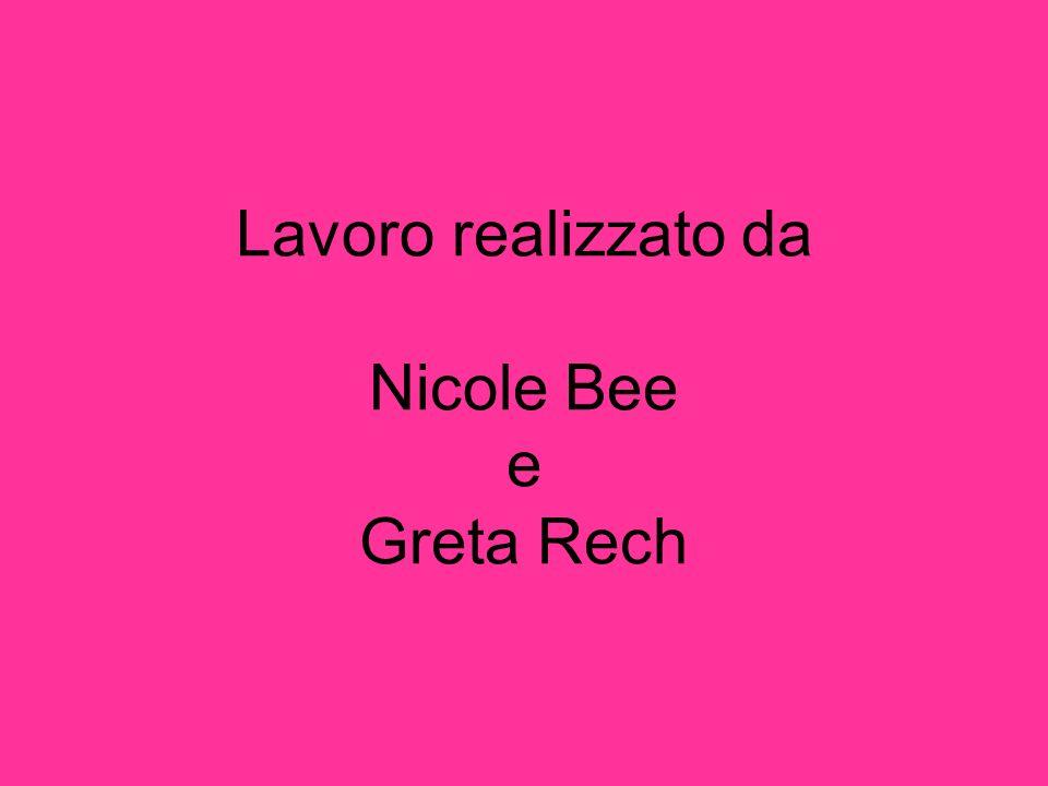 Lavoro realizzato da Nicole Bee e Greta Rech