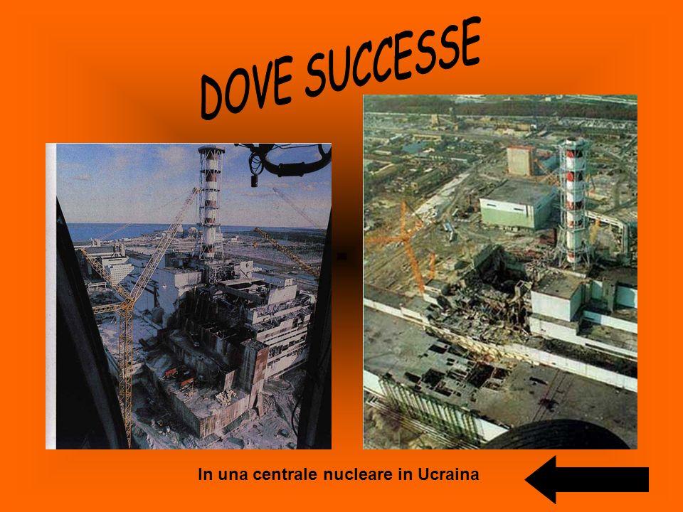 In una centrale nucleare in Ucraina