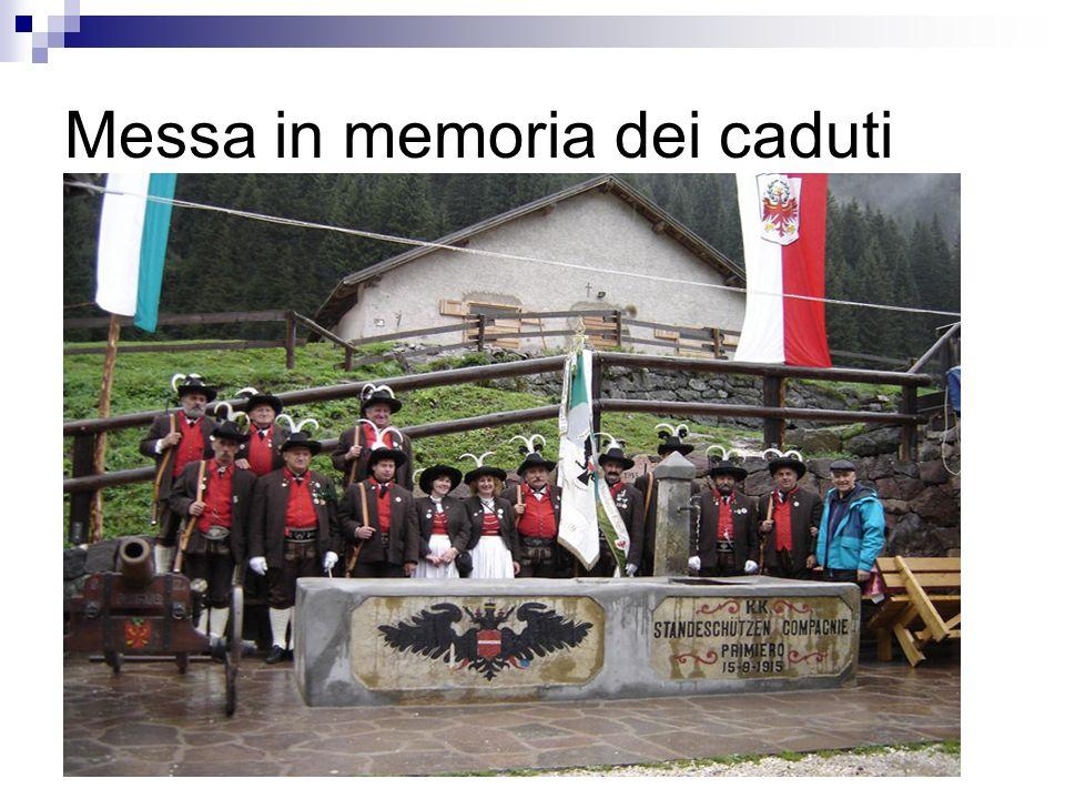 Messa in memoria dei caduti
