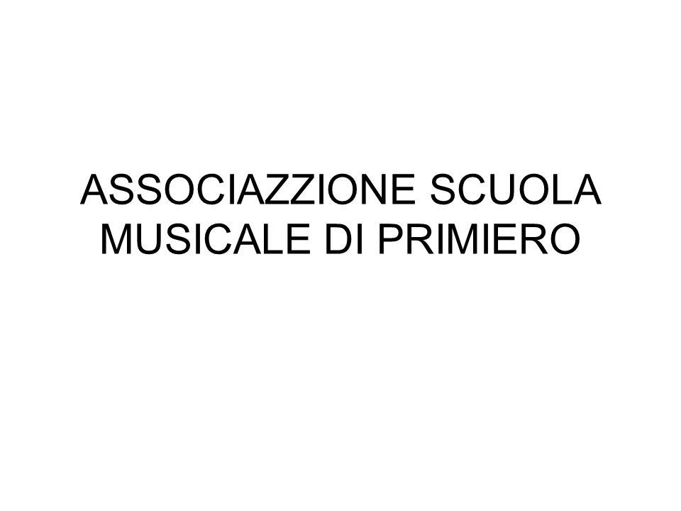 ASSOCIAZZIONE SCUOLA MUSICALE DI PRIMIERO