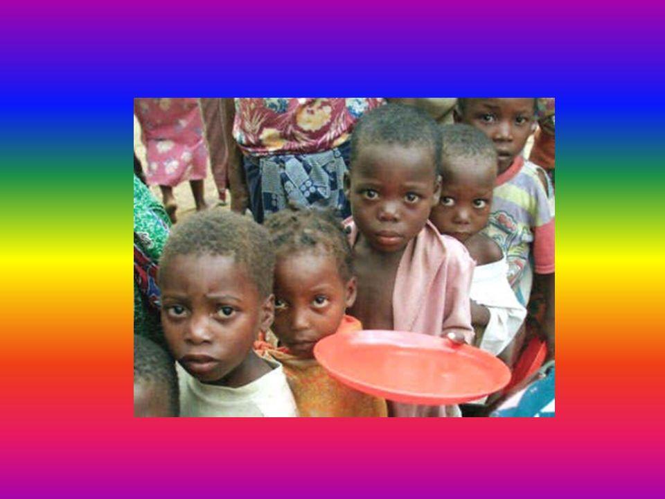 Mi sento triste Se penso a certi bambini magrissimi E io a volte non voglio mangiare e butto via il cibo.