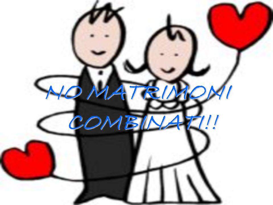 NO MATRIMONI COMBINATI!!