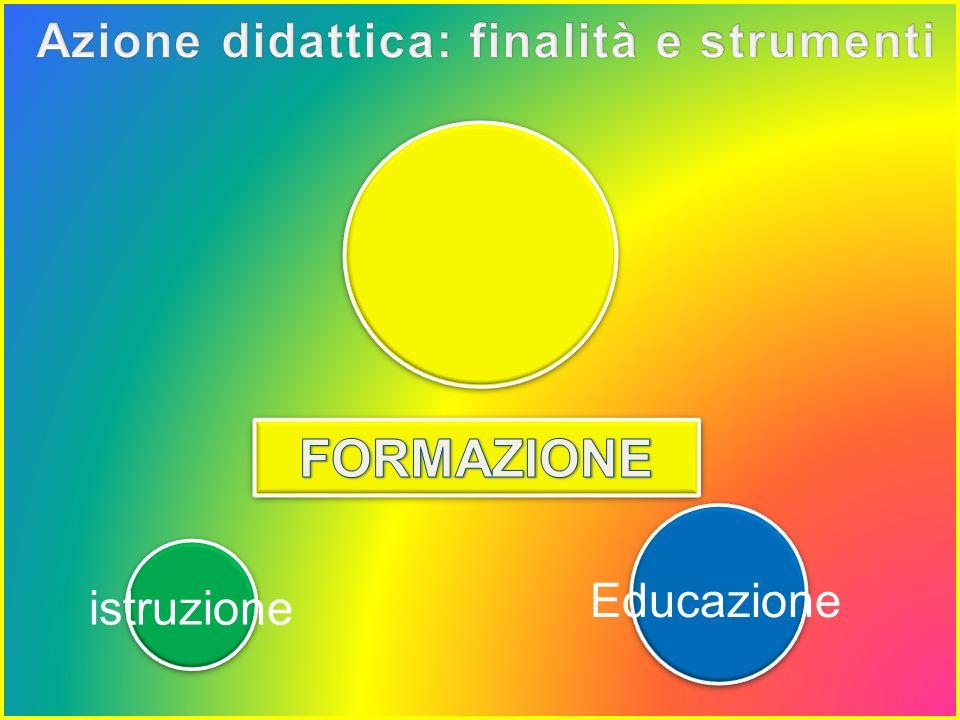 Tirocinio Formativo Attivo Anno Accademico 2012/2013 - Istruzione – Educazione - Formazione - il curricolo - Istruzione – Educazione - Formazione - il