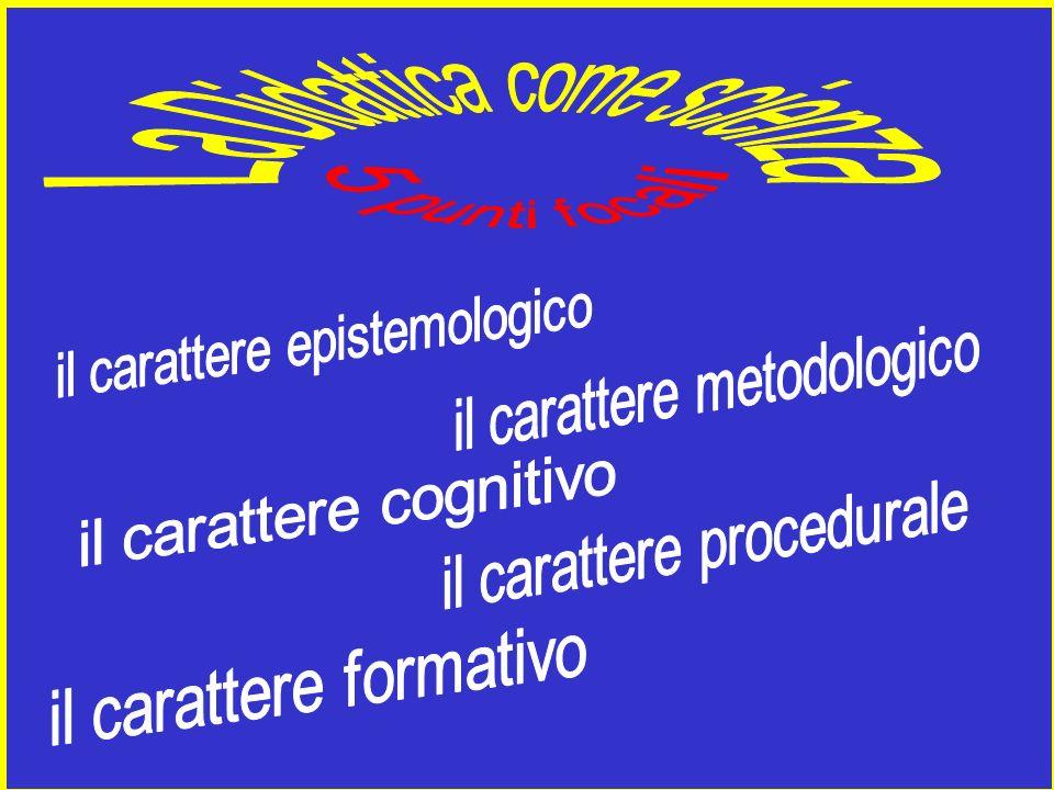 legittima metodi definiti a priori enfatizza i bisogni e gli interessi dellalunno DIDATTICA ASSIOMATICA (culturale) DIDATTICA ATTIVA (alunnocentrica)
