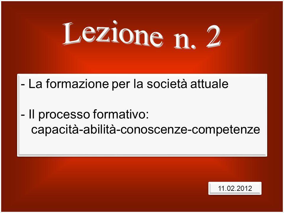 Prof. Mario Malizia Anno accademico 2011/2012 Lezione n. 2
